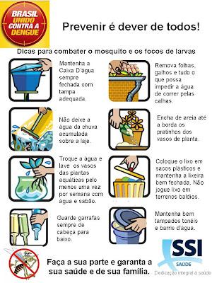 Atividades sobre a Dengue