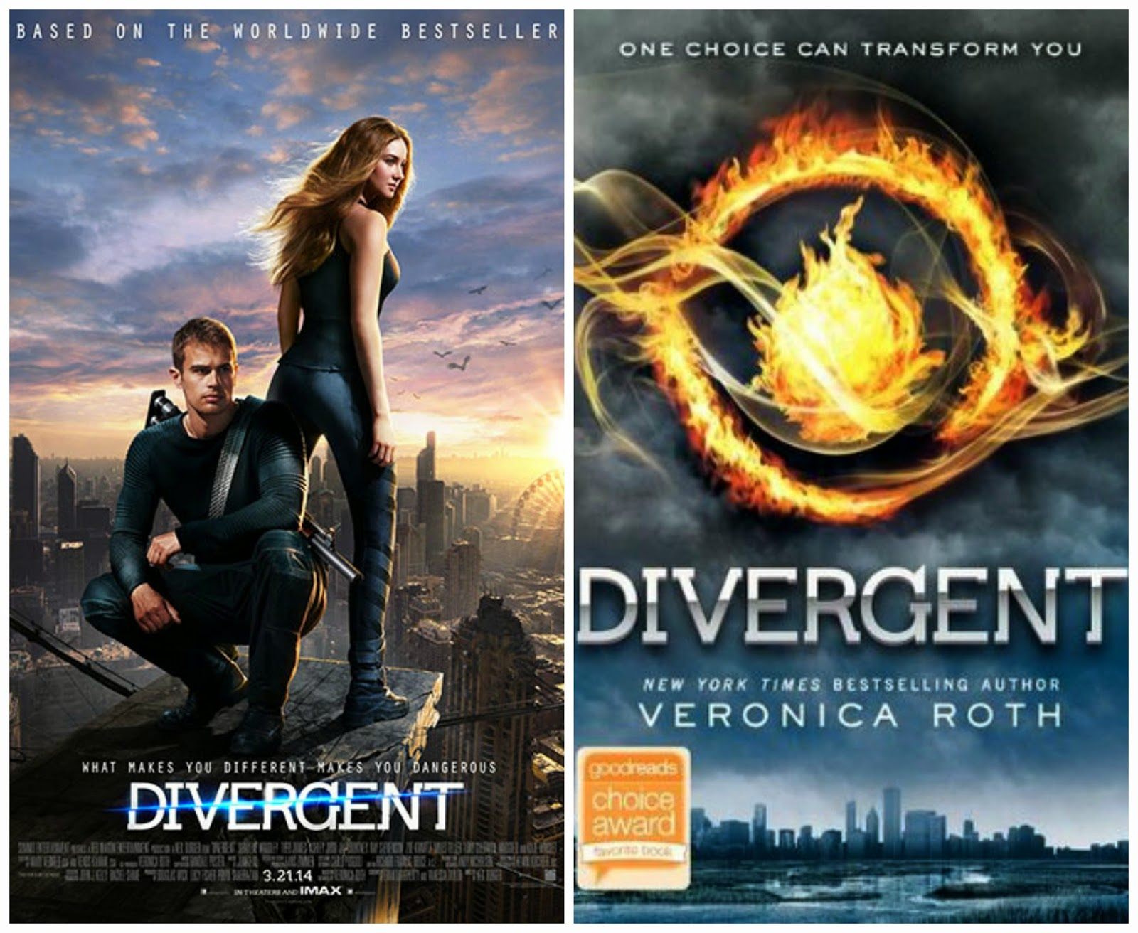 Divergent Book Cover Pictures : Divergent book vs movie juliana grace