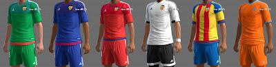 PES 2013 Valencia CF GDB 2015-16 UPDATE by ABIEL