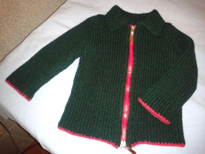 Las maravillas de alicia chaqueta de punto para beb - Tejer chaqueta bebe 6 meses ...