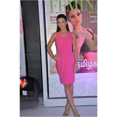 amy jackson launches femina anniversary issue hot images