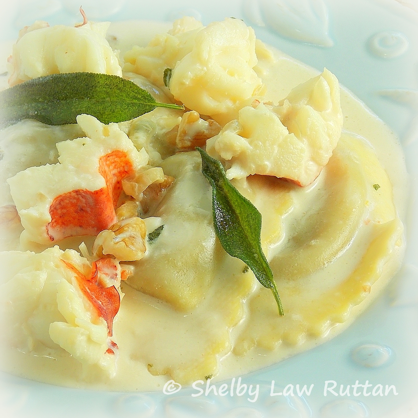 Buitoni Butternut Squash Ravioli with Lobster Sage Cream Sauce ...