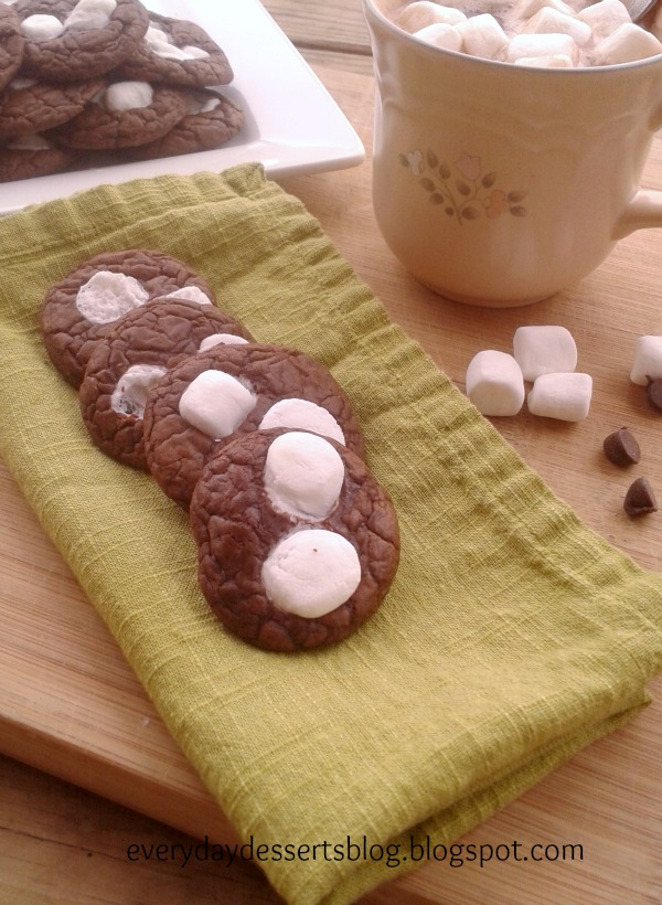 Mini Hot Cocoa Cookies (Source: Two Peas and Their Pod )