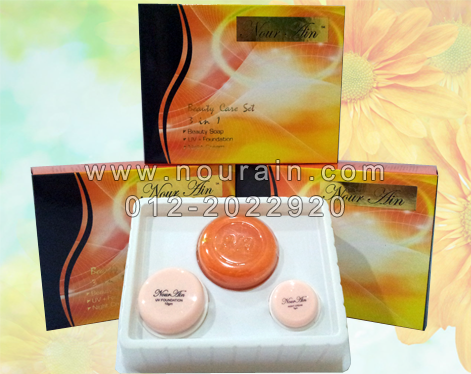 nour ain beauty care - set 3 in 1