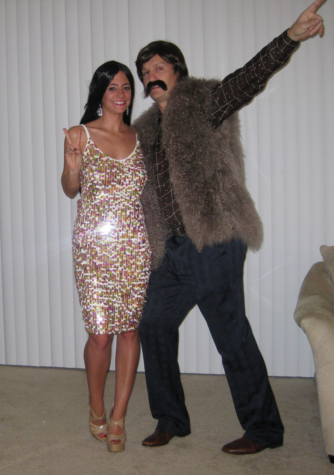 Sonny u0026 Cher Halloween Costumes  sc 1 st  Bedazzles After Dark : cher costume ideas  - Germanpascual.Com