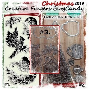 Creative Fingers Christmas 2019 Blog Candy