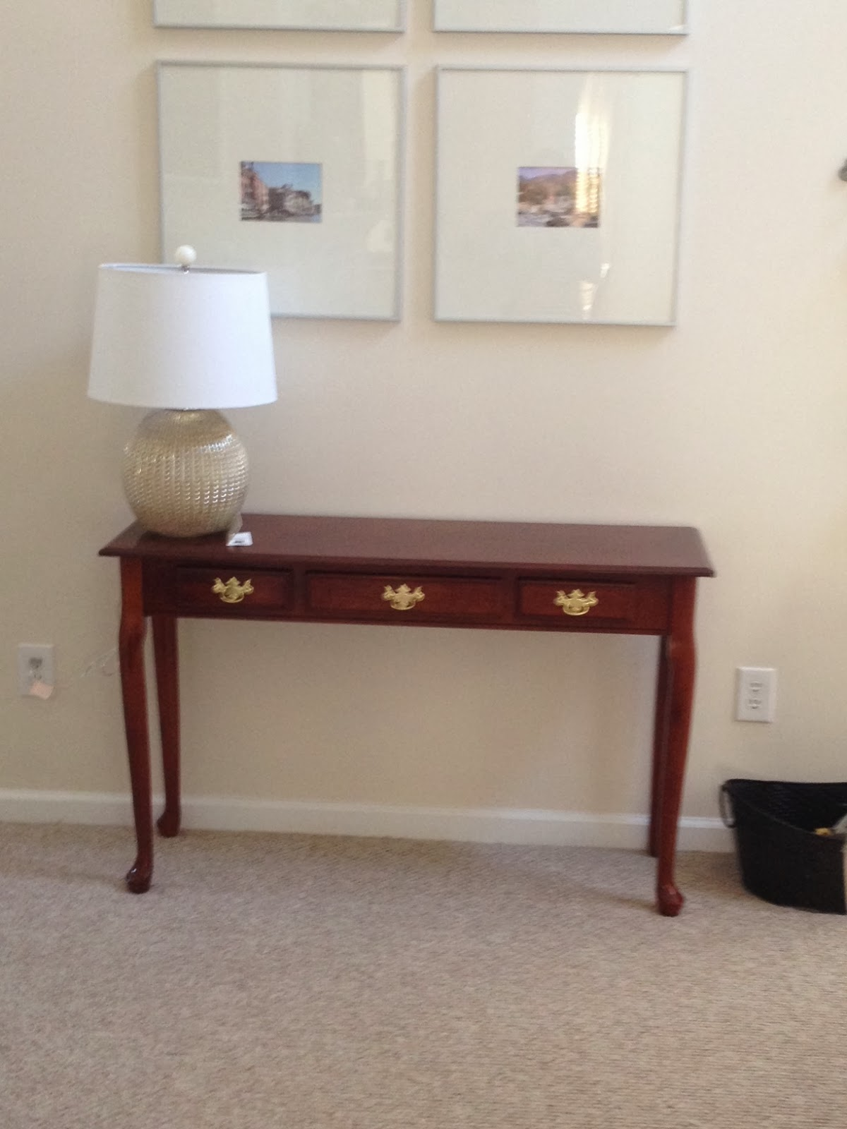 Olive gray console table makeover diy for Sofa table makeover