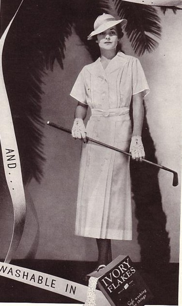 Kitten Vintage: 1930s Women's Golfing Outfits and Sportswear