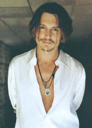 johnny depp style. Johnny Depp Hairstyles In