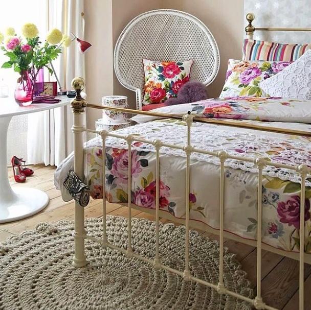 blog de decoração  Arquitrecos Tapetes de crochet arrasando na decoração!