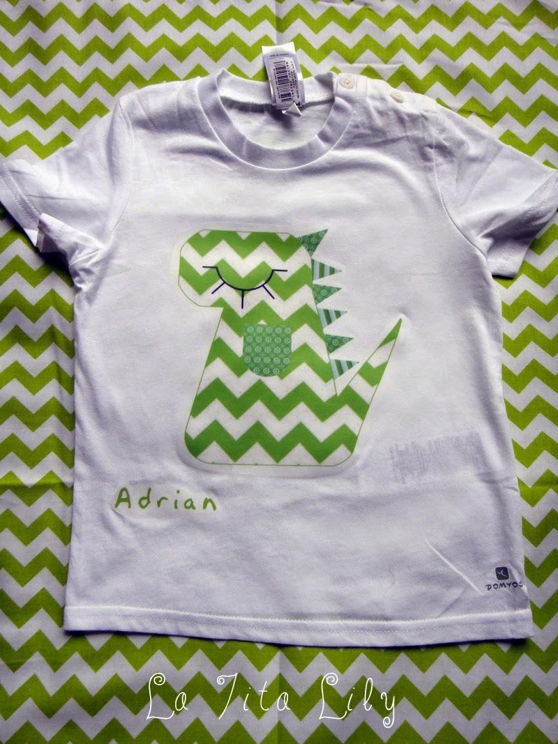 Camiseta niño dinosaurio