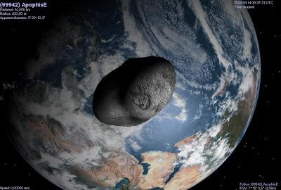 asteroide apophis chocará contra la Tierra