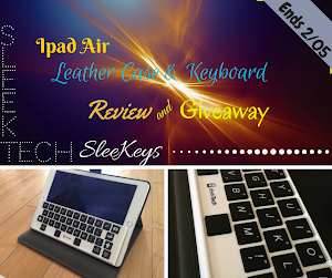 iPad Air Leather Case & Keyboard Giveaway!