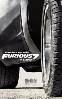 Poster original de Fast & Furious 7