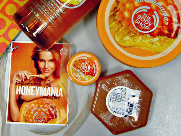 The buzz about The Body Shop's Honeymania Collection