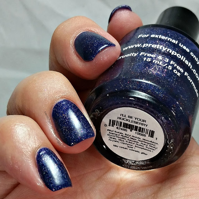 swatcher, polish-ranger | Pretty & Polished I'll Be Your Huckleberry swatch