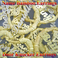 Bamboo Gold Earrings2