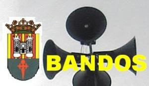 BANDO:  VIERNES 17 DE MAYO.