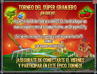 torneo del super granjero en dragon city amigos para dragon city