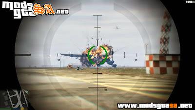 V - Melhoria nas Explosões de Aviões GTA V PC