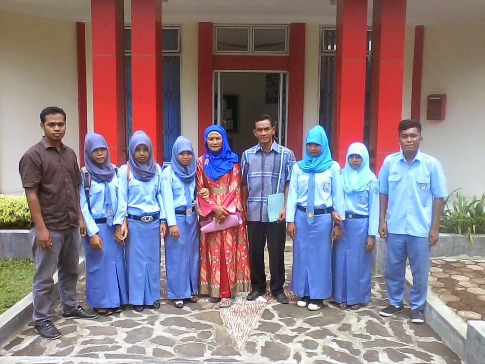 Penjemputan Siswa Praktek Kerja Industri di Balai Benih Induk (BBI) Lubuk Minturun Sumatra Barat