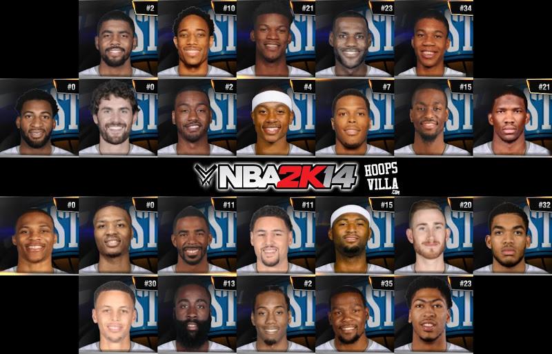 NBA 2k14 Roster update - January 21, 2017 - All Star 2017 Roster - HoopsVilla