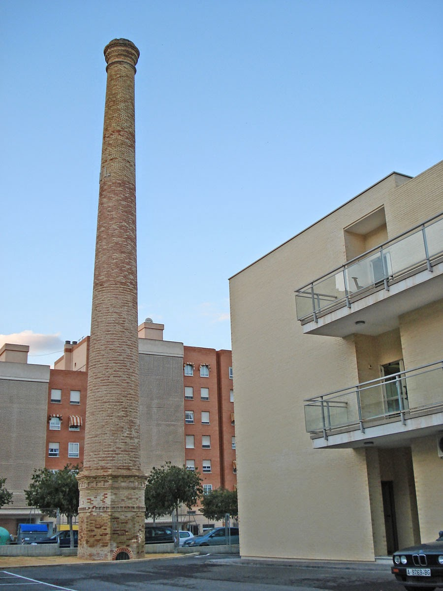 Patrimonio industrial arquitect nico alicante el - Chimeneas en alicante ...