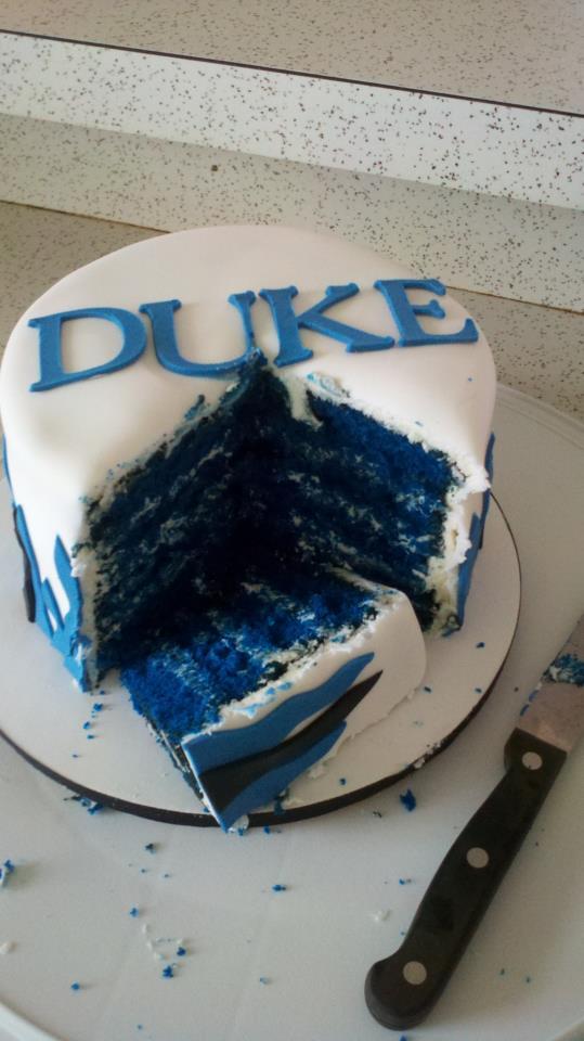 Cakes By Becky Duke Birthday Cake