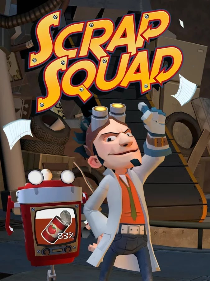 Scrap Squad v1.0.1 [Mod Money]