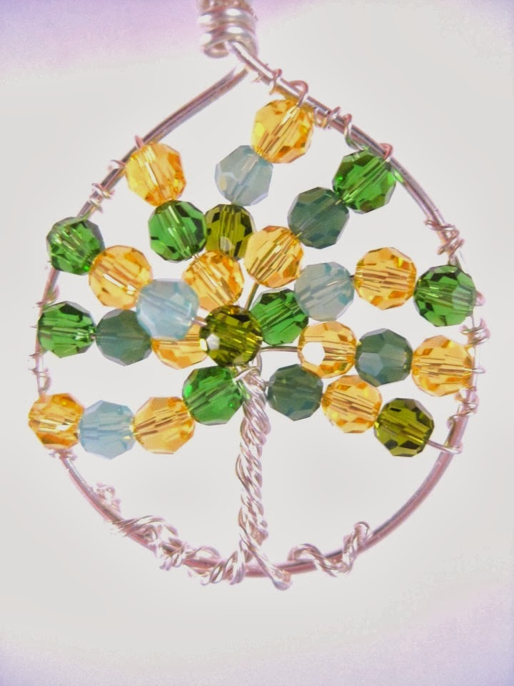 Lemon Tree of Life Pendant