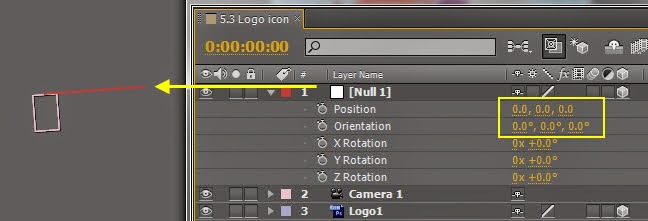 Use Null object control DOF 08