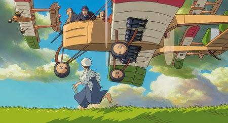 Gambar The Wind Rises Film Animasi Walt Disney Kartun Drama