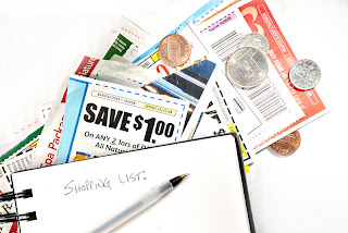 shopping list and coupons