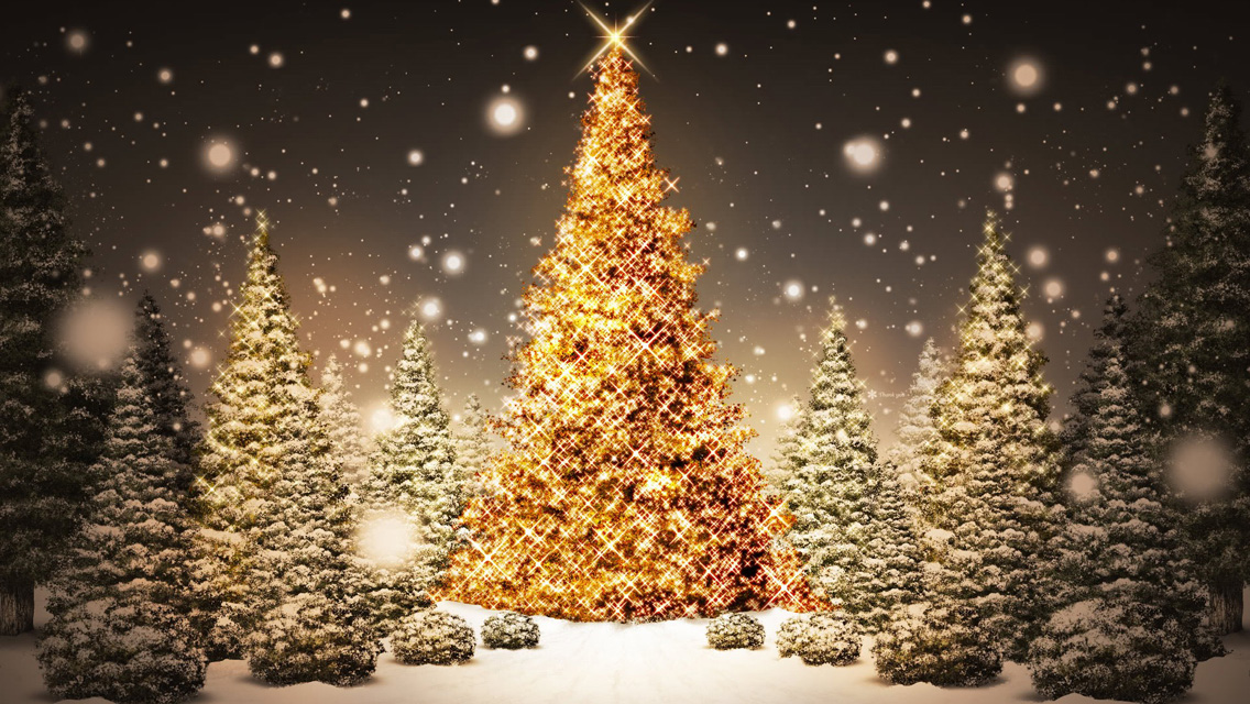 Free Download Christmas Tree HD Wallpapers for iPhone 5 Part One ...