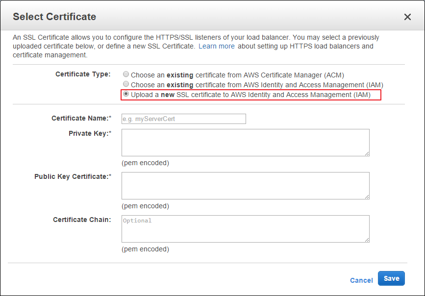 How To Configure Elb For Https Listener Selfsigned Certificate On