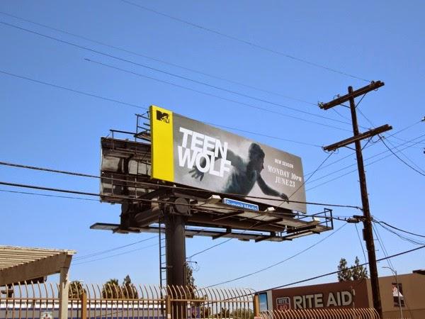 Teen Wolf season 4 billboard