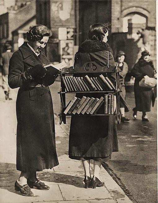 Walking Library, London, 1930s