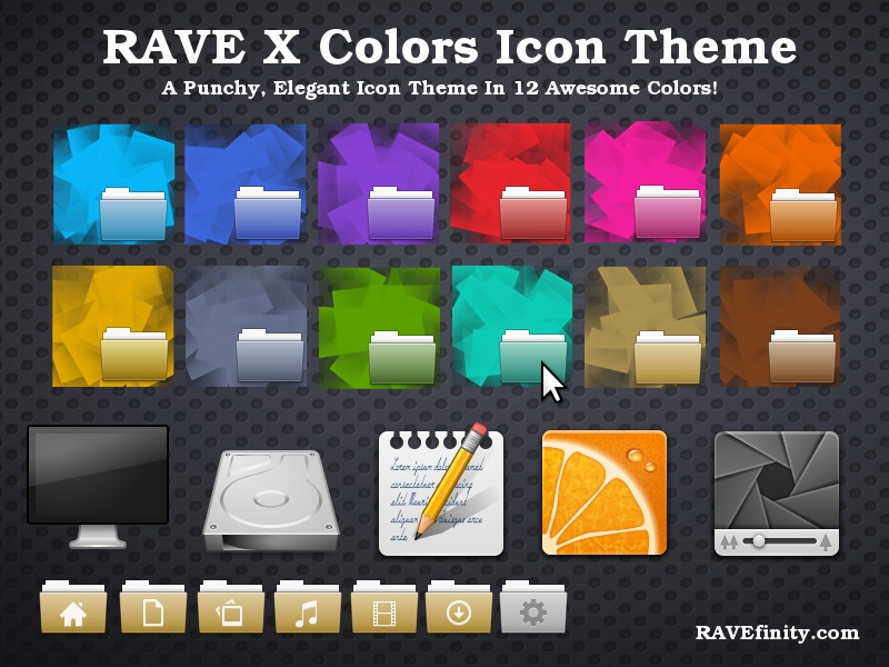 rave-x icons