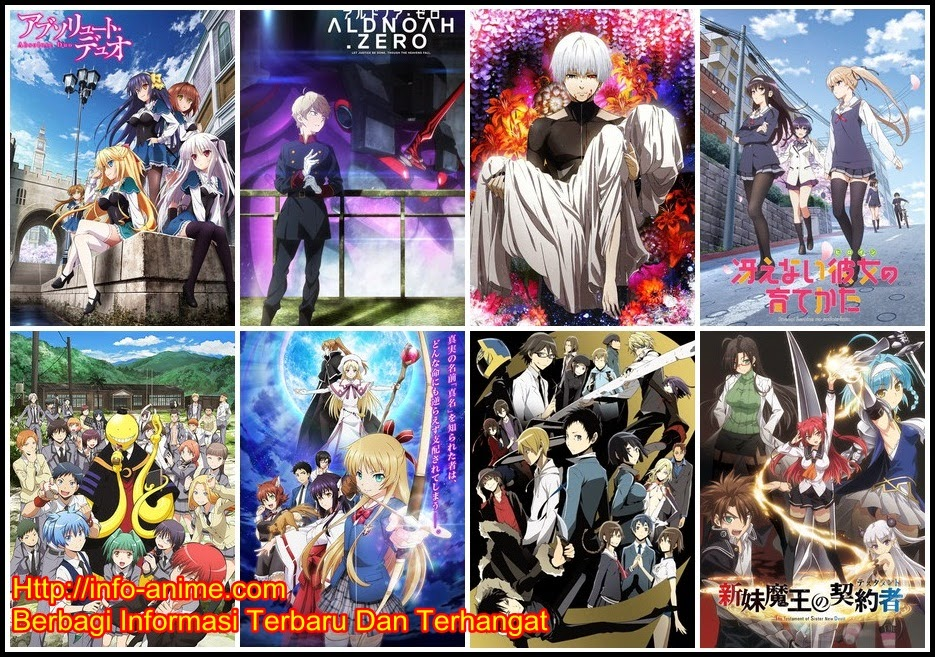 [ Info-Anime ] List Anime Yang Pantas Dilihat Di Musim Winter 2015