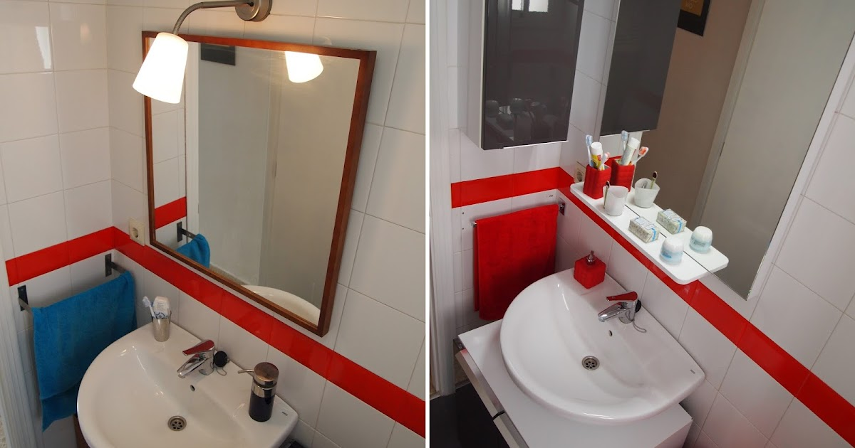 Decor me renovando el ba o sin obras el mobiliario y for Cambiar lavabo de pie por mueble