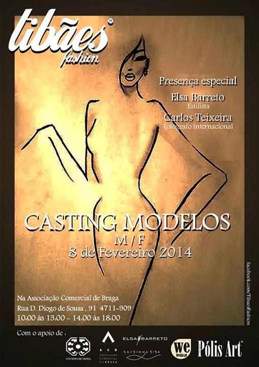 Casting para modelos em Braga (2014)