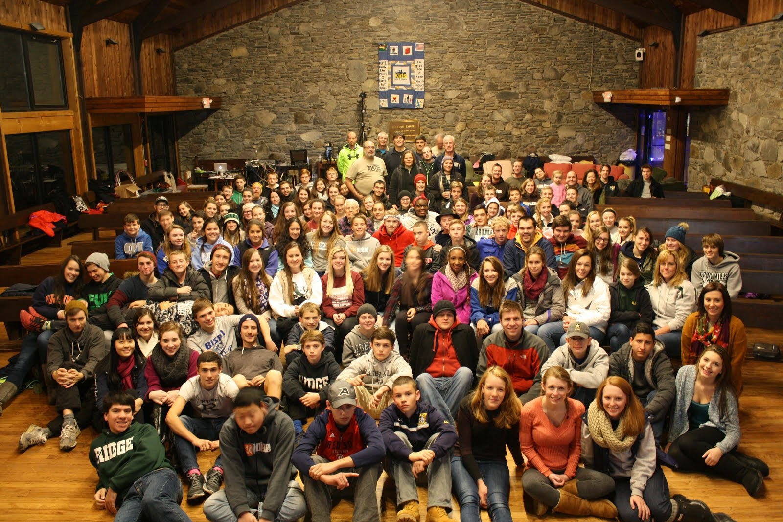 WANTED high school retreat 2014