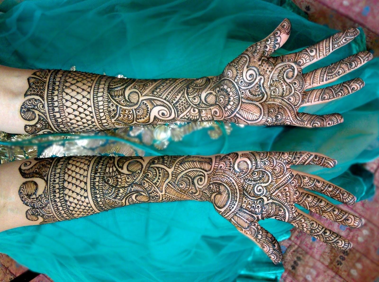 Mehndi Bridal Free Download : Bridal mehndi designs beautiful simple design