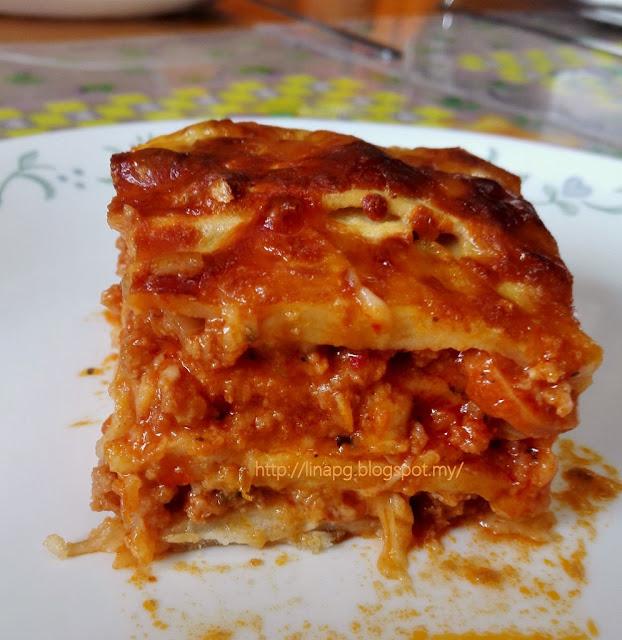 Lasagna Roti LiNa Pg