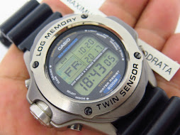 CASIO SEA-PATHFINDER TWIN SENSOR - TITANIUM CASE