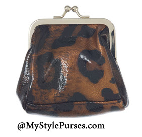 Leopard Coin Purse - Miche Lisa Coin Purse