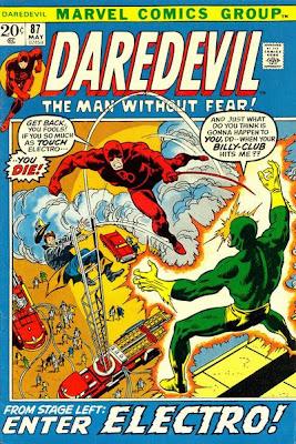 Daredevil #87, Electro