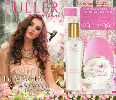 Fuller Cosmetics Campaña 7 2015