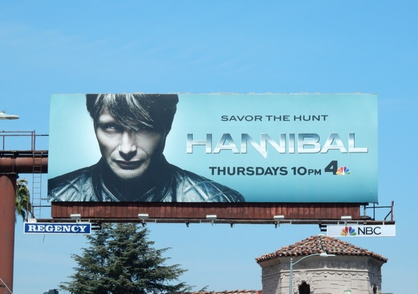 Hannibal season 3 billboard