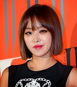 Brown Eyed Girls Narsha's instagram account
